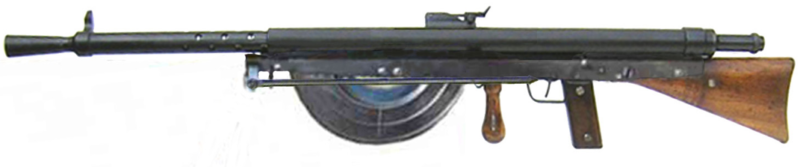 Ручной пулемет Chauchat M-1915