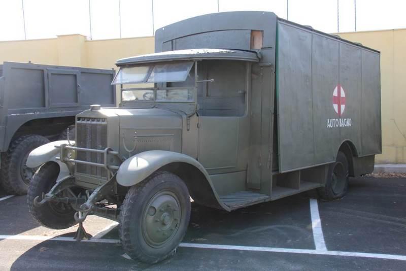 Санитарная машина на базе Ceirano 50-СМ