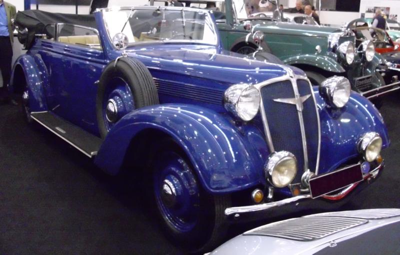 Автомобиль «Adler-Diplomat» 3-G кабриолет