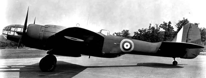Бомбардировщик Maryland Mk-I (167F)
