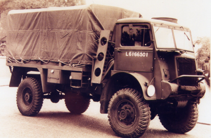 Грузовик Bedford QLT