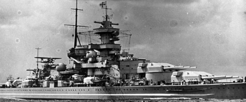 Линейный корабль «Gneisenau»