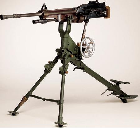 Станковый пулемет St. Étienne Mle 1907
