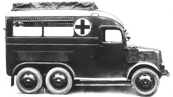 Санитарная машина Tatra-92