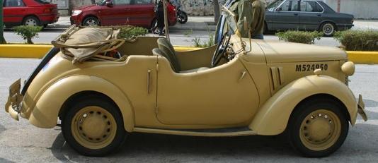 Кабриолет Austin 8-HP (AP)