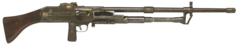Пехотный пулемет Darne machine gun
