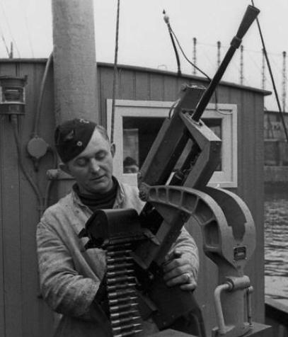 Зенитный пулемет Darne machine gun