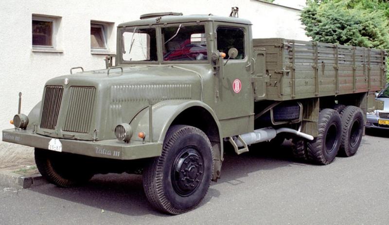 Бортовой грузовик Tatra-111 (Т-8000)