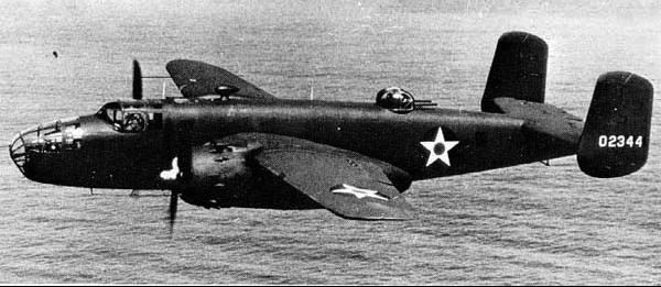 Бомбардировщик Mitchell B-25В