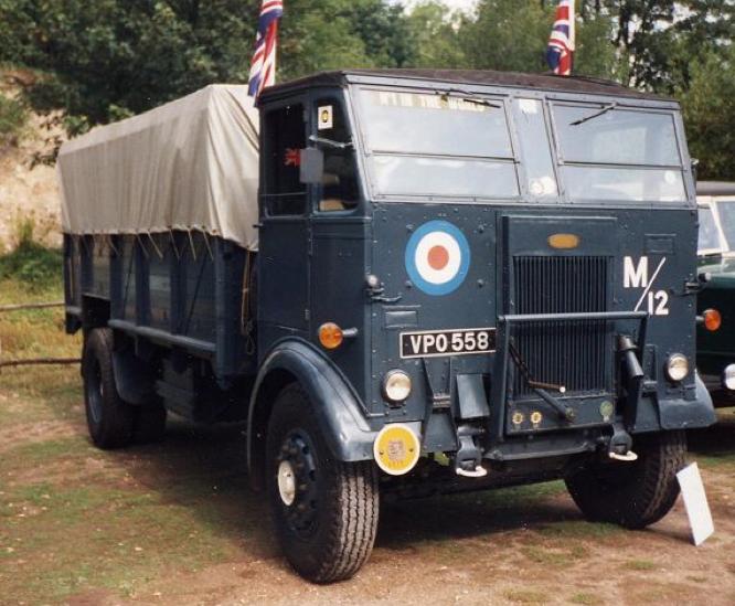 Бортовой грузовик Dennis Max Mk-II