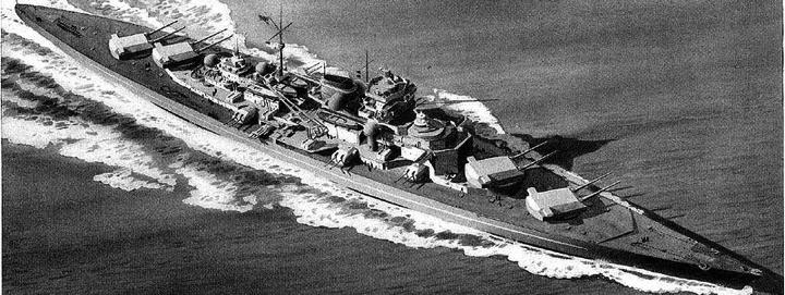 Линейный корабль «Tirpitz»