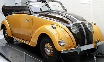 Кабриолет Adler Typ 10