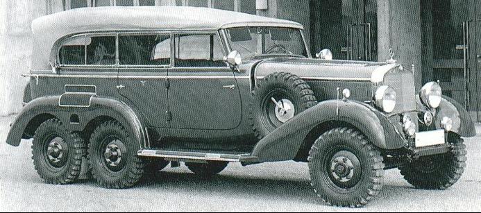 Внедорожник Mercedes-Benz G-4 (W-31)