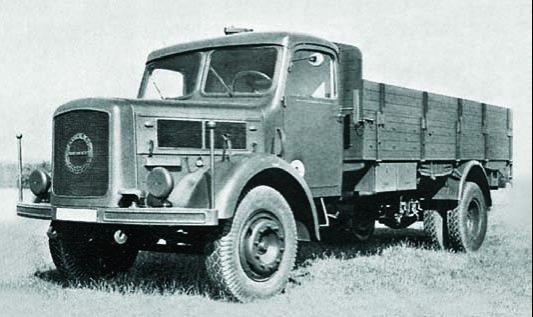 Грузовик Klöckner-Deutz-Magirus S-4500 (S-145)