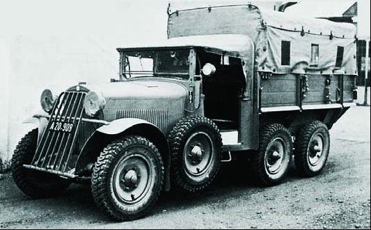 Грузовик Steyr-440 (40-D)