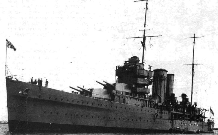 Тяжелый крейсер «York»