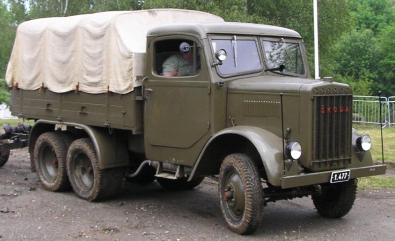 Бортовой грузовик Skoda-6L