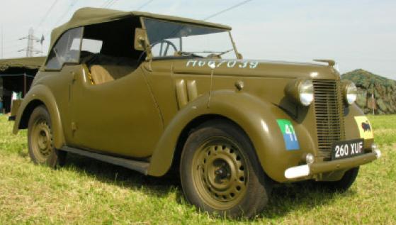 Автомобиль Austin 10-HP кабриолет