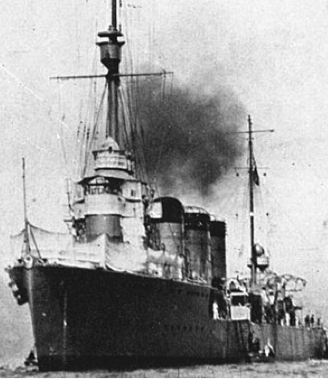 Легкий крейсер «Tatsuta»