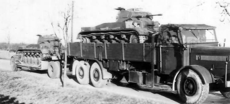 Грузовик Faun L-900 D-567