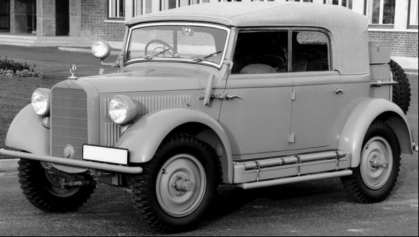 Внедорожник Мersedes-Benz G-5 (W-152) Kolonial- Jagdwagen