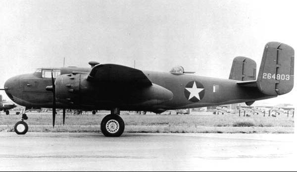 Бомбардировщик Mitchell B-25G