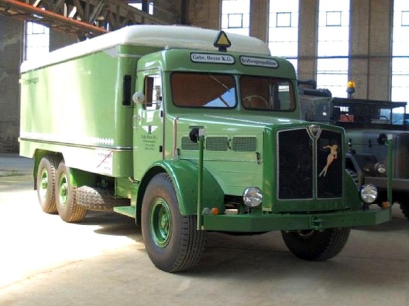 Фургон Faun L-900