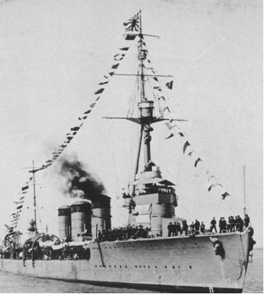 Легкий крейсер «Tenryu»