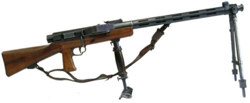 Ручной пулемет Furrer Lmg-25