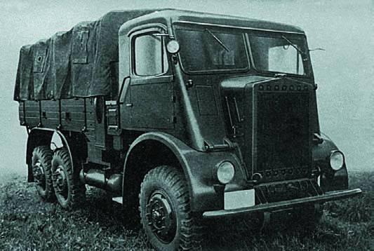 Безкапотный грузовик Skoda-6SD