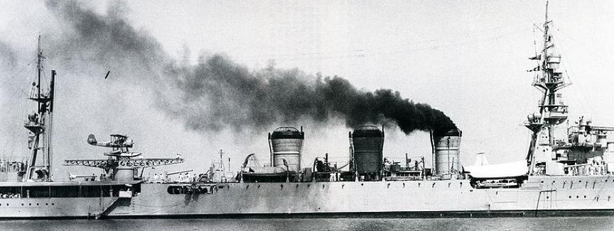 Легкий крейсер «Kuma»