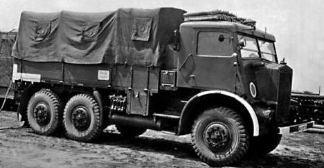 Бортовой грузовик Skoda 6-VD