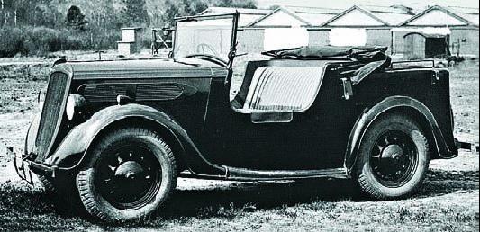 Автомобиль Commer Scout