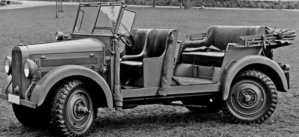 Внедорожник Мersedes-Benz G-5 (W-152) – военная версия (Kübelwagen)