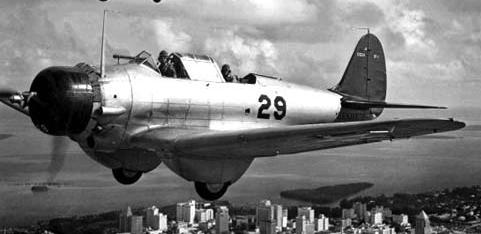 Бомбардировщик Northrop BT-1