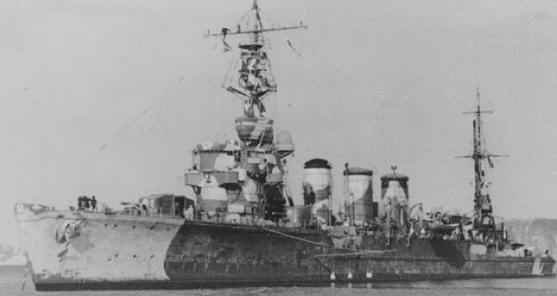 Легкий крейсер «Tama»