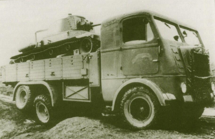 Грузовик Skoda-6K (S-6VT-6)