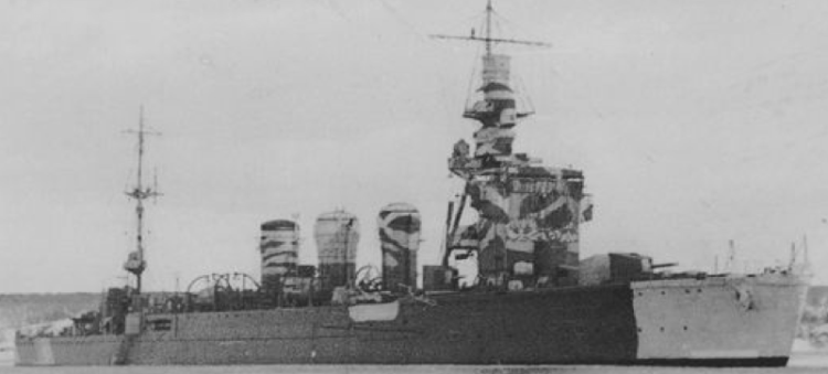 Легкий крейсер «Kiso»