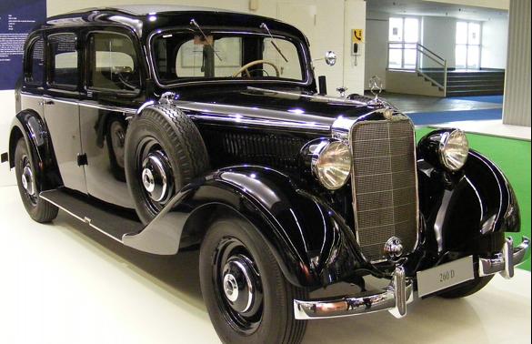 Mercedes-Benz 260-D (W-138) Pullman Limousine