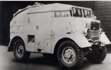 Полубронированный грузовик Karrier КТ-4 Spider