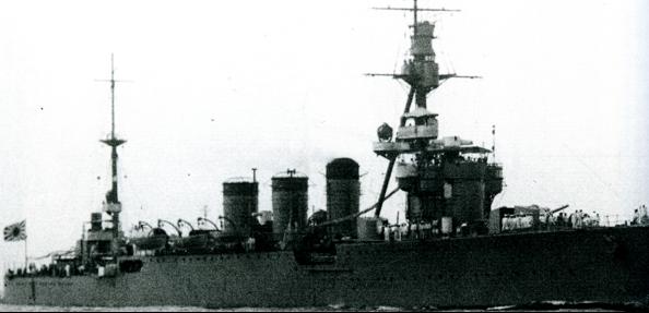Легкий крейсер «Kitikami»