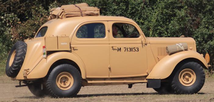 Автомобиль Ford WOA-1
