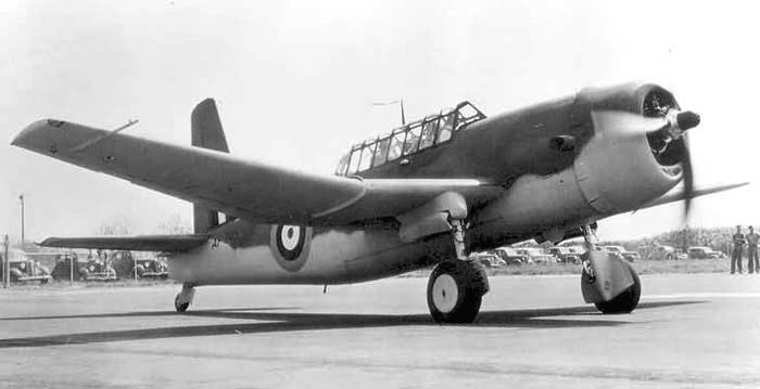 Бомбардировщик Vultee A-31 Vengeance Mk-I