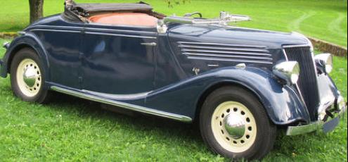 Кабриолет Renault Celtaquatre