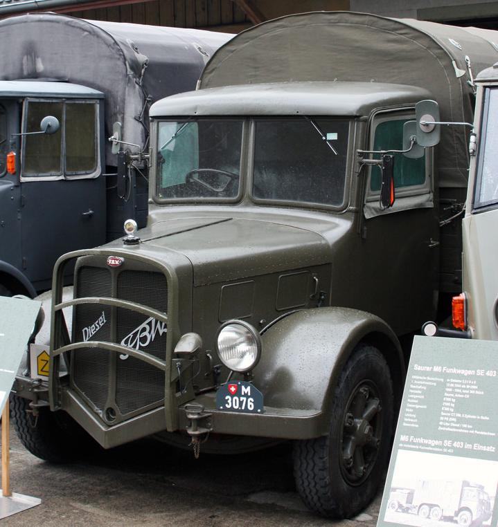 Грузовик FBW АМ-40