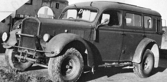 Автомобиль Ford WOA-2