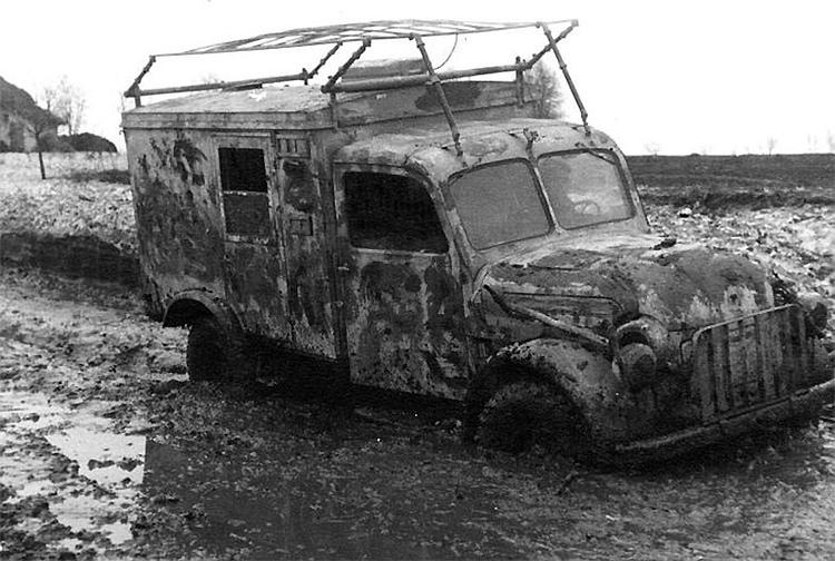 Радиостанция на базе грузовика Steyr 1500-А