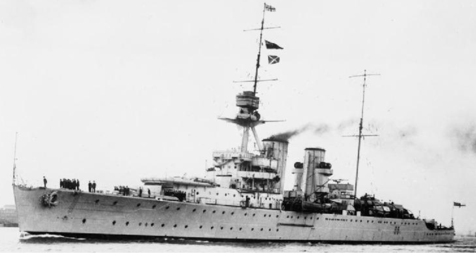 Тяжелый крейсер «Effingham»
