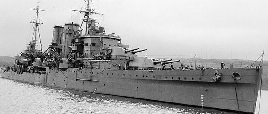 Тяжелый крейсер «Exeter»