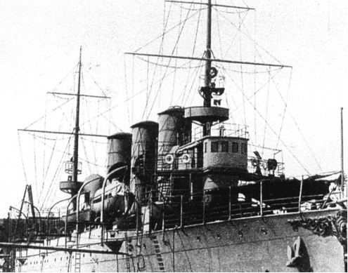 Бронепалубный крейсер  «Mecidiye» («Прут»)